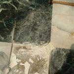 Poor Marble Installation Job
