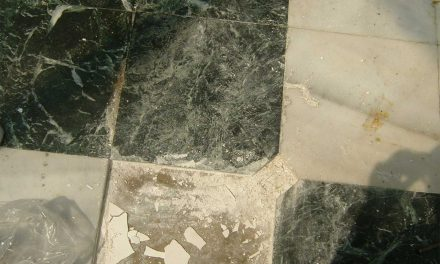 Poor Marble Installation Job